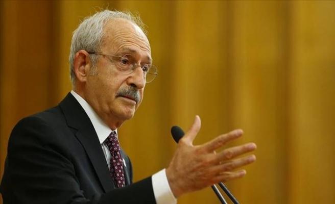 CHP lideri Kemal Kılıçdaroğlu partisinin grup toplantısında konuştu