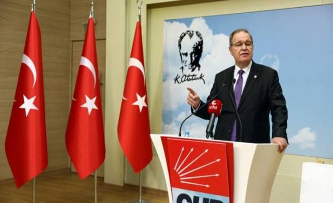 CHP Sözcüsü Faik Öztrak gündeme dair değerlendirmelerde bulundu