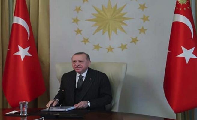 Cumhurbaşkanı Erdoğan'dan AB'ye: 'Türkiye'nin üzerindeki sığınmacı yükü artıyor'
