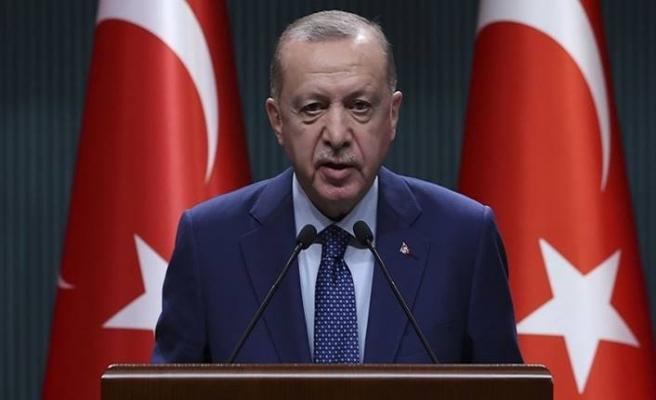 Erdoğan kabine toplantı sonrası açıklama yaptı