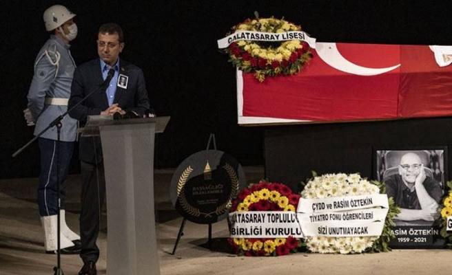 İBB Başkanı Ekrem İmamoğlu: Rasim Öztekin'e verdiğimiz sözü tutacağız