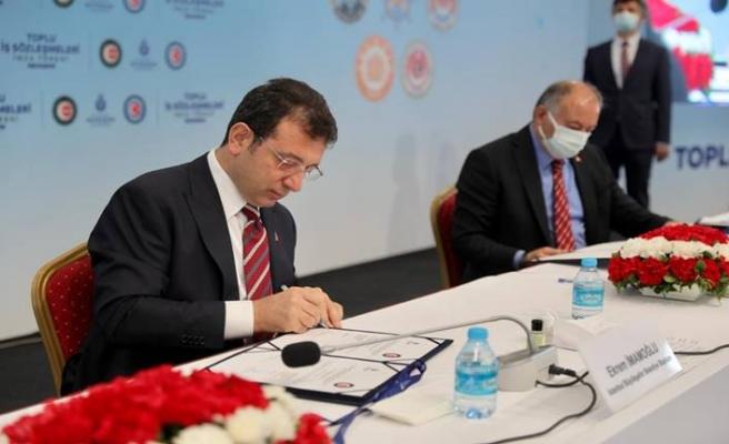 İBB'de 45 bin emekçiyi kapsayan toplu sözleşme imzalandı