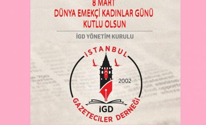 İGD: 'Kadını ikinci plana atan toplumlar gerilemeye mahkûmdur.'