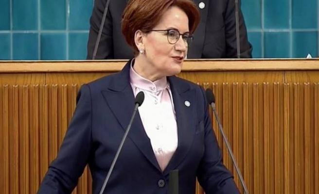 İYİ Parti Genel Başkanı Akşener 'den fezlekeler konusunda net tavır