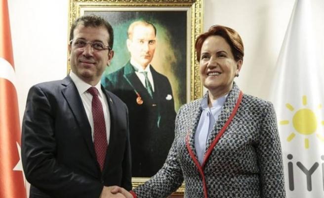 İYİ Parti Genel Başkanı Akşener: İmamoğlu'nun tweetini arkadaşlarımızın çoğu beğenmedi