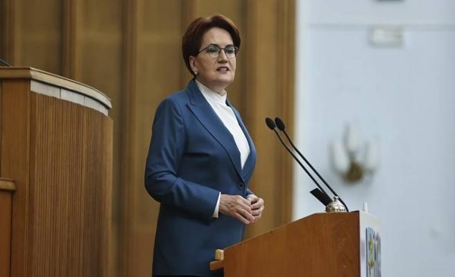 İYİ Parti Genel Başkanı Meral Akşener grup toplantısında açıklama yaptı