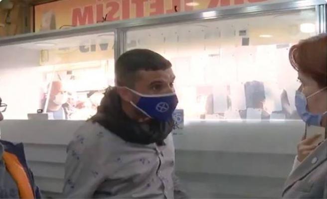 Meral Akşener Şanlıurfa'daki ziyaretinde esnafın sorunlarını dinledi
