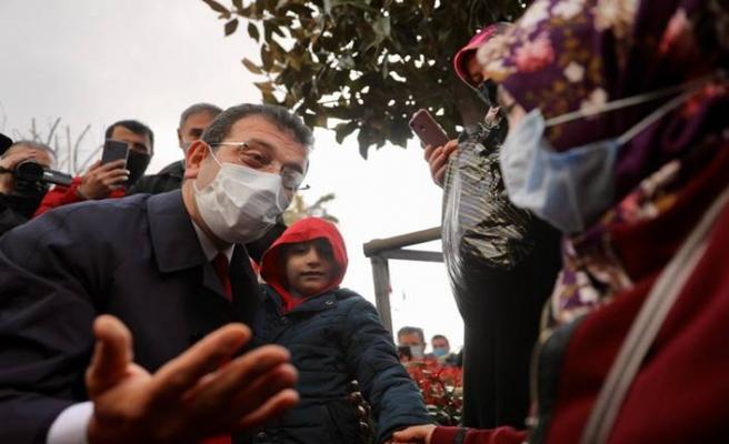 Ekrem İmamoğlu: Arnavutköy'de incelemelerde bulunup esnaf ziyareti gerçekleştirdi