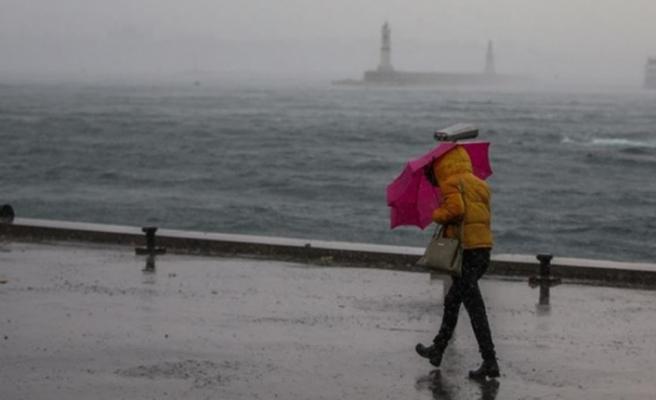 İstanbul ve Trakya için fırtına uyarısı!