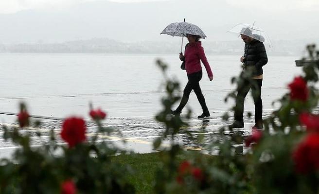 Meteoroloji'den bazı bölgeler için sağanak ve çamur uyarısı
