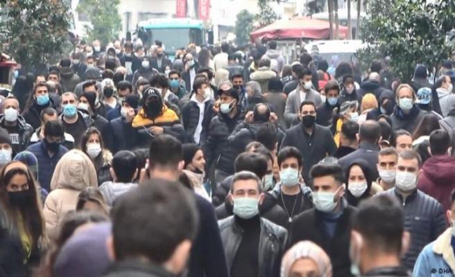 Türkiye'de yeni vaka sayısı 63 bine dayandı