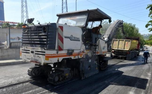 Avcılar Belediyesi, asfalt serim çalışmalarına hız verdi