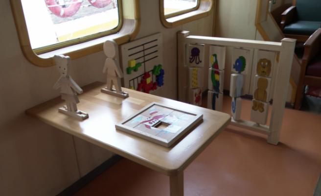 İBB'den küçüklere güzel haber: Vapurlara çocuk alanı kuruldu