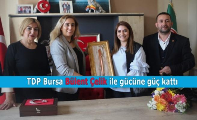 TDP Bursa Bülent Çelik ile gücüne güç kattı