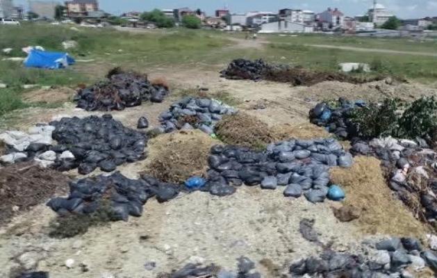 Avcılar ve Başakşehir kaçak hafriyat döküm alanına dönüştü