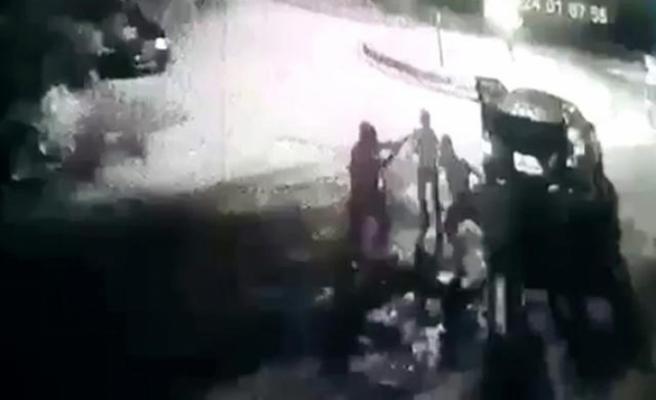 Büyükçekmece'de restoran çıkışı öldüren dayak kamerada