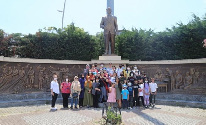 Büyükçekmeceli öğrenciler için kültür gezisi düzenlendi