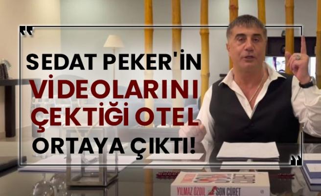 Kaldığı otel ifşa olan Sedat Peker adres değiştiriyor...