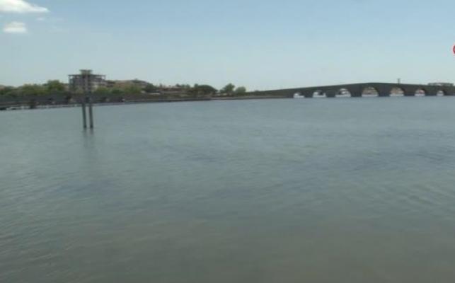 Kirlilik nedeniyle Büyükçekmece Gölü'nün rengini değişti