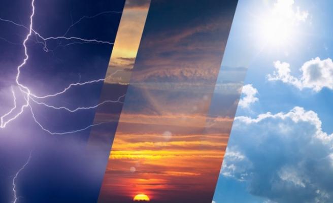 Meteoroloji'den hem sıcak hava hem de sağanak uyarısı