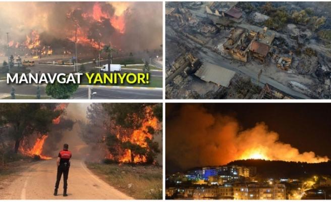 Antalya, Adana, Mersin, Aydın, Muğla, Osmaniye ve Kayseri'de orman yangınları