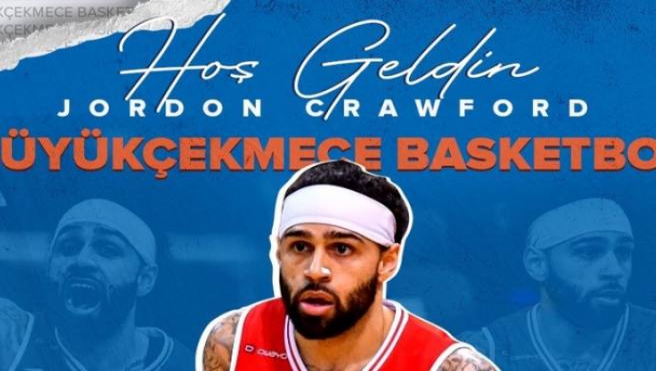 Büyükçekmece Basketbol, ABD'li oyuncu Jordon Crawford'ı transfer etti