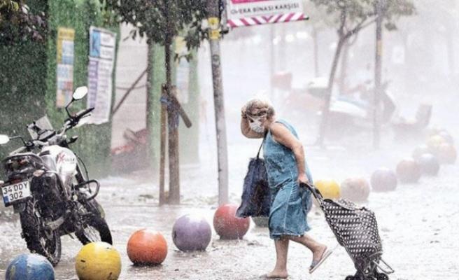 Yasaksız ilk pazar günü için Meteoroloji'den yağmur, dolu ve sel uyarısı