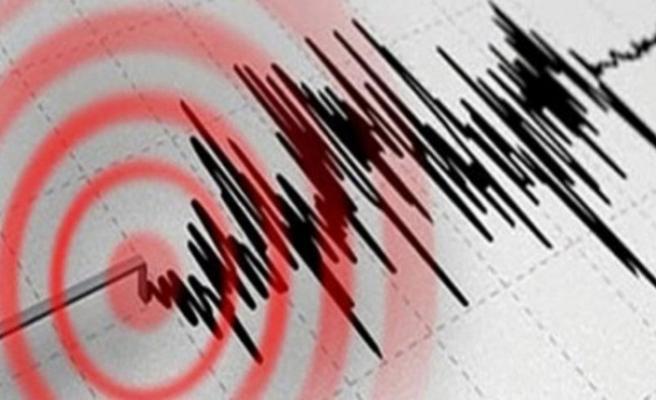 Yangın felaketi ile savaşan Manavgat'ta deprem