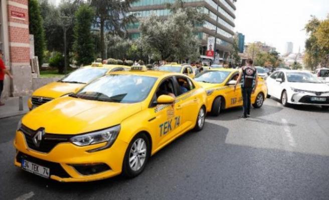 İstanbul'da taksicilere ceza yağdı