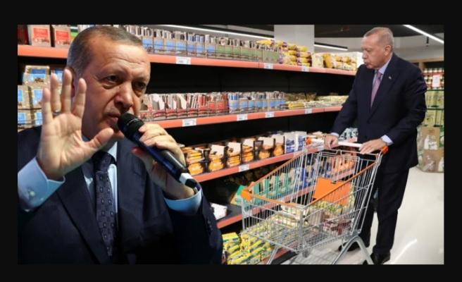 İşte Erdoğan'ın bahsettiği o marketler ve sahipleri