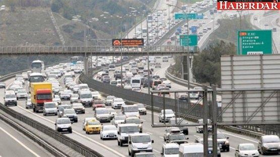 29 Ekim provası trafiği felç etti
