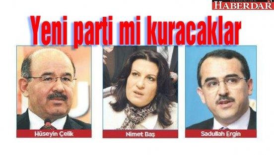 Aday Gösterilmeyen 3 Dönemlikler AK Parti'yle Bağı Kopardı