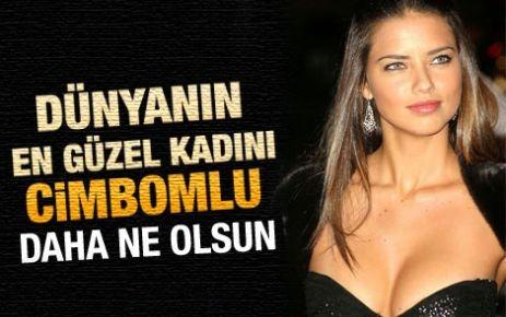 Adriana Lima'nın tuttuğu Türk takımı