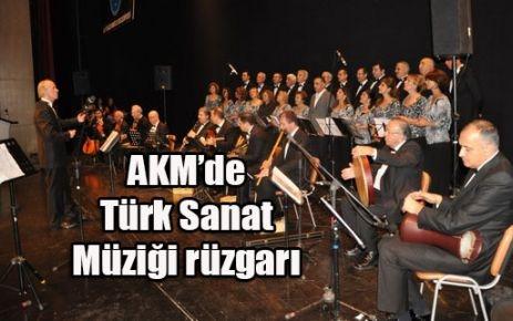 AKM'de Türk Sanat Müziği rüzgarı...