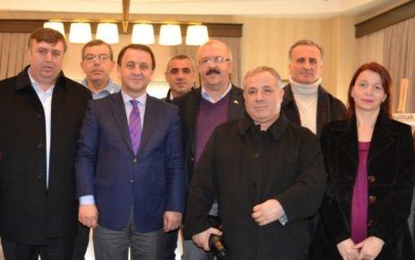 ALİBEYSPOR'UN YENİ YÖNETİMİ IŞIKLAR'I ZİYARET ETTİ