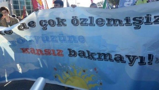 Ankara'daki Patlamadan Hemen Önce Barış Pankartı Açılmıştı
