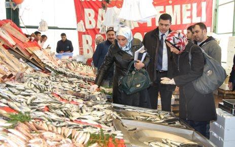 Başakşehir'de balıkçılar denetimden geçti
