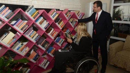 Belediyeden kütüphane desteği