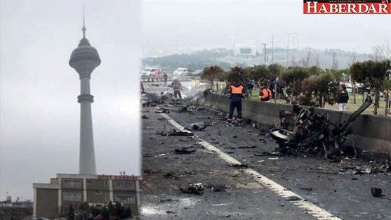Beylikdüzü'ndeki helikopter faciasının yaşandığı kule için flaş iddia