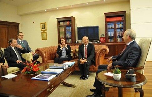 Bölgemiz başkanları Kılıçdaroğlu'nu ziyaret etti