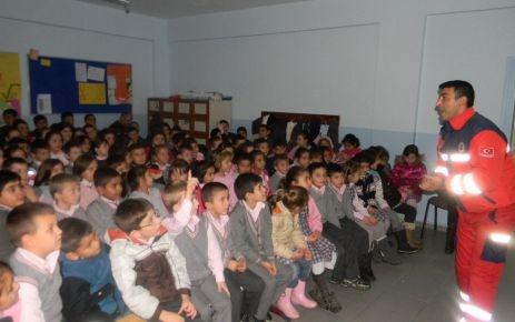 Çatalca'da ilk yardım semineri