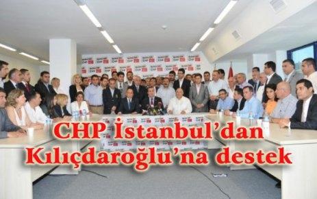 CHP İstanbul'dan Kılıçdaroğlu'na destek