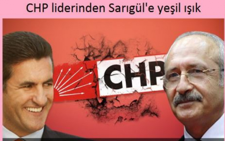 CHP liderinden Sarıgül'e mesaj!