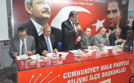 CHP Silivri 2014'e kilitlendi