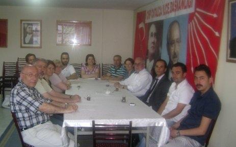 CHP'de teşekkür ziyaretleri devam ediyor