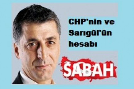 CHP'nin ve Sarıgül'ün hesabı