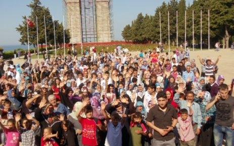 Durağan'lı gençler Çanakkale'de