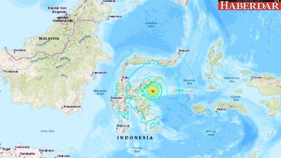 Endonezya'da 6.8 büyüklüğünde deprem! Tsunami uyarısı verildi...