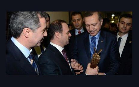 Erdoğan'ı şaşırtan ödül: Bana niye verdiniz?