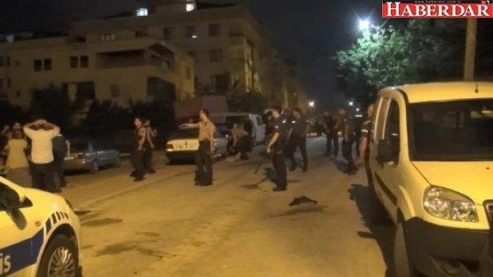 Esenyurt'ta hareketli dakikalar: Sopalarla saldırdılar, polis ateş açtı
